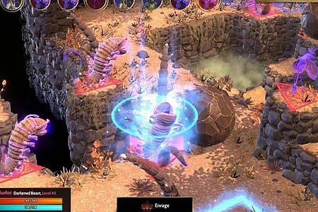 Spieler führen ihre Gruppe durch diverse Abenteuer und gegen unsympathische Monster. Foto: En Masse Entertainment/dpa-tmn