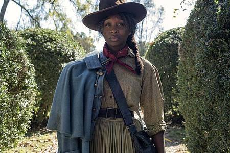 Cynthia Erivo spielt Harriet Tubman, die als Sklavin in ein freies Leben fliehen kann. Foto: Glen Wilson/Universal Pictures/dpa