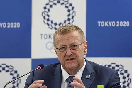 IOC-Vizepräsident John Coates. Foto: Du Xiaoyi/XinHua/dpa