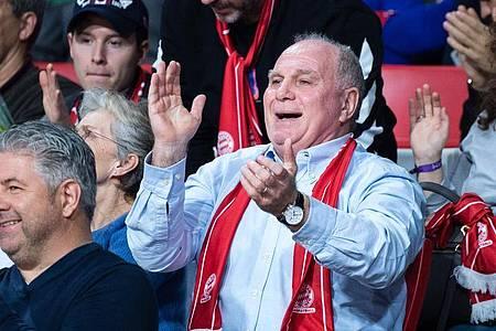 Ehrenpräsident beim FC Bayern München: Uli Hoeneß. Foto: Matthias Balk/dpa
