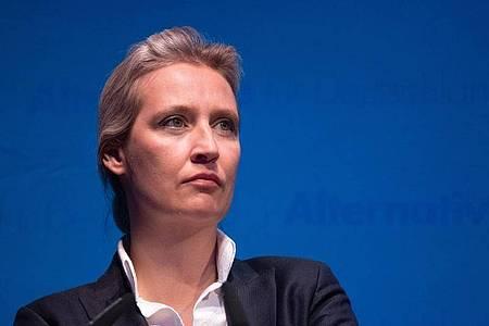 Der Corona-Kurs vom AfD-Fraktionsvorsitzenden im Bundestag, Alice Weidel, eckt bei vielen an. Foto: Marijan Murat/dpa