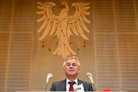 Will Krawalle unbedingt verhindern: Frankfurts Polizeipräsident Gerhard Bereswill. Foto: Arne Dedert/dpa