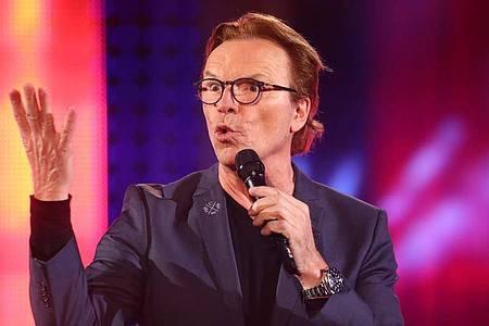 Wolfgang Lippert singt viel über die Liebe. Foto: Bodo Schackow/dpa-Zentralbild/dpa