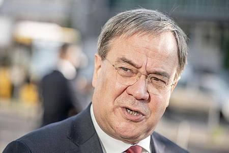 NRW-Ministerpräsident Armin Laschet (CDU) schlägt eine neue Art der Corona-Risikobewertung vor. Foto: Michael Kappeler/dpa
