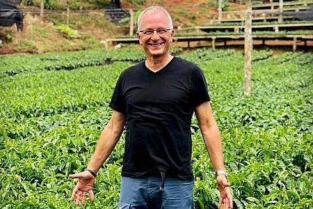 Bernd Braune ist Inhaber der Kaffeerösterei Supremo in Unterhaching und Präsidiumsmitglied des Deutschen Kaffeeverbandes. Foto: Supremo/dpa-tmn