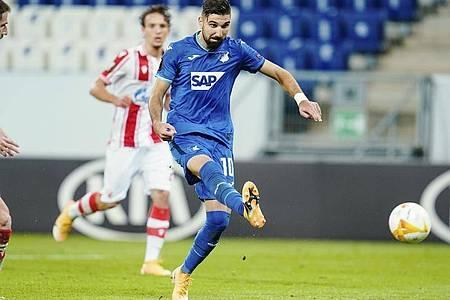 Munas Dabbur stellte mit seinem Tor zum 2:0 den Endstand her. Foto: Uwe Anspach/dpa