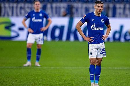 Der FC Schalke 04 kam nicht über ein 1:1 gegen den VfB Stuttgart hinaus. Foto: Guido Kirchner/dpa