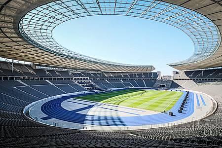 Leeres Olympiastadion