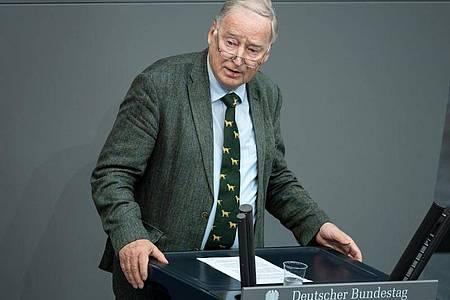 Alexander Gauland Anfang Juli bei einer Debatte im Bundestag. Foto: Bernd von Jutrczenka/dpa