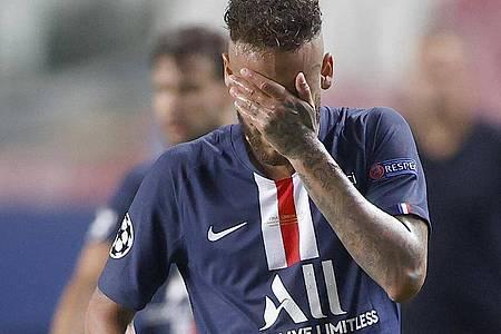 PSG-Star Neymar konnte es nicht fassen. Foto: Matthew Childs/Pool Reuters/AP/dpa