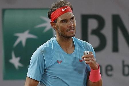 Rafael Nadal ist ins Halbfinale eingezogen. Foto: Michel Euler/AP/dpa