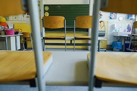 Leerer Klassenraum einer Schule in Baden-Württemberg. Foto: Uwe Anspach/dpa