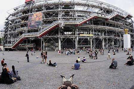 Im Pariser Centre Pompidou läuft eine Schau mit Werken von Henri Matisse. Foto: Horacio Villalobos/EPA/dpa