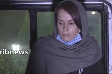 Im Iran ist nach Angaben des staatlichen Fernsehsenders IRIB die Islamwissenschaftlerin Moore-Gilbert freigelassen worden. Foto: -/Iranian State Television/AP/dpa