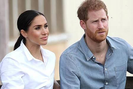 Herzogin Meghan und ihr Mann Prinz Harry kämpfen um ihre Privatsphäre. Foto: Chris Jackson/PA Wire/dpa