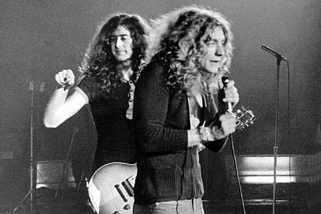 Eine Legende:Led Zeppelin. Foto: -/dpa