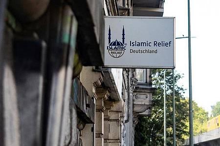 Das Büro von Islamic Relief in Berlin. Die Organisation bezeichnet sich selbst als gemeinnützige deutsche Nichtregierungsorganisation mit humanitärem Auftrag. Foto: Paul Zinken/dpa-Zentralbild/dpa
