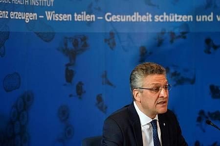 Der Präsident des Robert Koch-Instituts, Lothar Wieler. Foto: John Macdougall/AFP-Pool/dpa