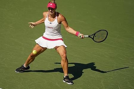 Angelique Kerber schied bei den US Open im Achtelfinale aus. Foto: Seth Wenig/AP/dpa