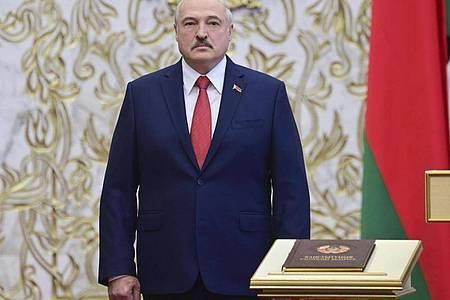 Der belarussische Machthaber Alexander Lukaschenko. Foto: Andrei Stasevich/BelTA/AP/dpa