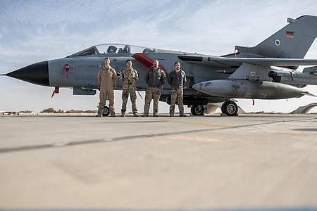 Der Einsatz von Tornado-Aufklärern von Jordanien aus wird beendet. Foto: Michael Kappeler/dpa