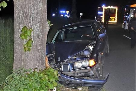 Am BMW entstand Totalschaden.