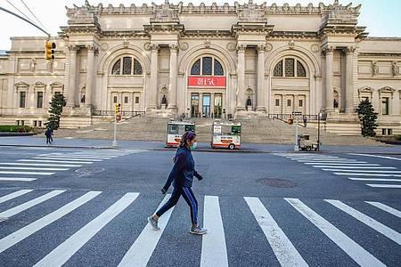 Das Metropolitan Museum will Ende August wieder öffnen. Foto: Vanessa Carvalho/ZUMA Wire/dpa