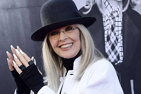 Die Schauspielerin Diane Keaton. Foto: Chris Pizzello/AP/dpa