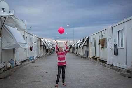 EinFlüchtlingslager in der Türkei. Foto: Uygar Onder Simsek/MOKU/dpa