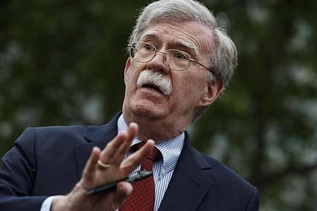John Bolton über Donald Trump: «Ich glaube nicht, dass er die Kompetenz hat, den Job zu machen.». Foto: Evan Vucci/AP/dpa
