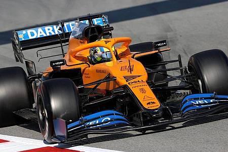 Der Formel-1-Rennstall McLaren hat sein Team für den Auftakt in Australien zurückgezogen. Foto: David Davies/PA Wire/dpa