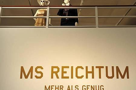 2013 gab es zum Thema Reichtum eine Ausstellung im Deutschen Hygiene-Museum inDresden. Foto: Bernd von Jutrczenka/dpa/Archiv