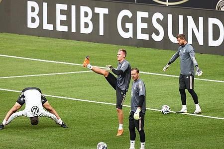 Bei den jüngsten Spielen gegen Spanien und die Schweiz spielte das DFB-Team noch vor leeren Tribünen. Foto: Christian Charisius/dpa