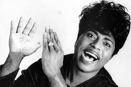 Little Richard in jungen Jahren 1966. Foto: -/ap/dpa