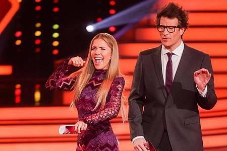 Die RTL-Show «Let`s Dance» mit Victoria Swarovski and Daniel Hartwich konnte die meisten Zuschauer vor den Bildschirmen versammeln. Foto: Rolf Vennenbernd/dpa