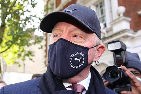 Boris Becker bei einem Gerichtstermoin im September 202 in London. Foto: Aaron Chown/PA Wire/dpa