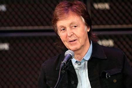 Er habe so viele schöne Erinnerungen an die gemeinsame Zeit, darunter an einen Ausflug nach Lübeck, schreibt Paul McCartney auf Instagram. Foto: Richard Wainwright/AAP/dpa