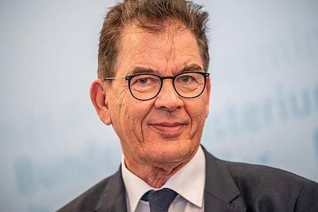 Gerd Müller (CSU), Bundesminister für wirtschaftliche Zusammenarbeit und Entwicklung. Foto: Michael Kappeler/dpa