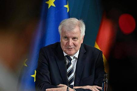 Bundesinnenminister Horst Seehofer leitet das EU-Innenministertreffen zur Reform der Migrations- und Asylpolitik. Foto: John Macdougall/AFP/Pool/dpa
