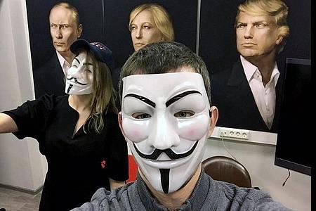 Szene aus der Dokumentation ««Propaganda 3.0 - Putin und der Westen». Foto: -/ARTE France/dpa