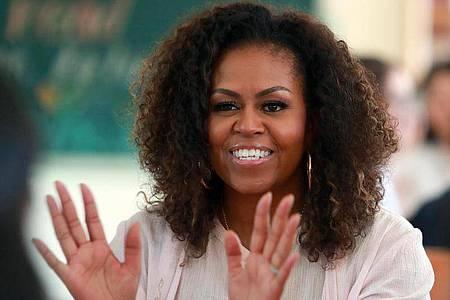 Michelle Obama hat ihrer Mutter viel zu verdanken. Foto: Hau Dinh/AP/dpa