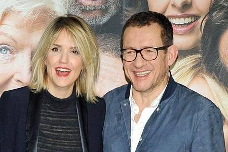 Der Regisseur Dany Boon und seine Lebensgefährtin, die französische Schauspielerin Laurence Arné. Foto: Ursula Düren/dpa