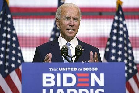 Will Amerika «vor vier weiteren Jahren Donald Trump retten»: Joe Biden. Foto: Carolyn Kaster/AP/dpa