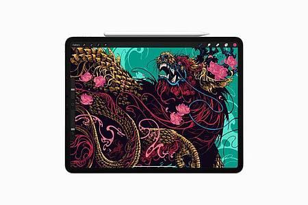 Das iPad Pro gibt es mit 11 und 12,9 Zoll Displaygröße. Foto: Apple/dpa-tmn