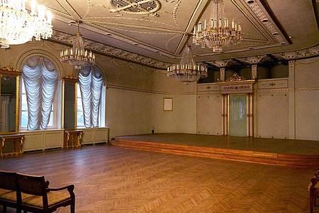 Der Wagner-Konzertsaal in Riga. Foto: Alexander Welscher/dpa