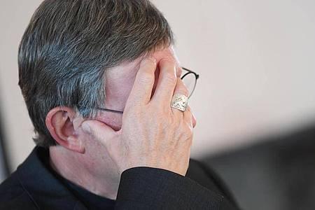 Kardinal Woelki will das Missbrauchsgutachten für die Kirche nicht veröffentlichen. Foto: Arne Dedert/dpa