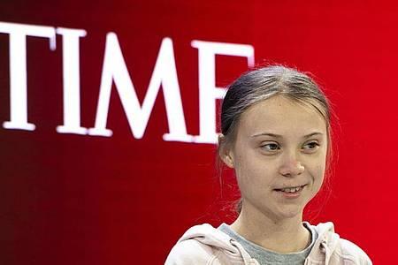 Die schwedische Klimaaktivistin Greta Thunberg ist erneut ausgezeichnet worden. Foto: Gian Ehrenzeller/KEYSTONE/dpa