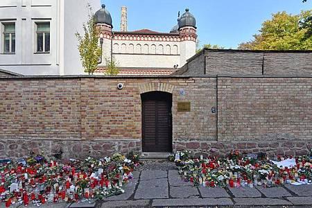 Am 9. Oktober 2019 hatte ein schwer bewaffneter Rechtsextremist versucht, die Synagoge in Halle zu stürmen und ein Massaker anzurichten. Foto: Hendrik Schmidt/dpa-Zentralbild/dpa/Archiv
