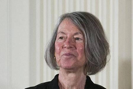 Der diesjährige Literaturnobelpreis geht an Louise Glück. Foto: Shawn Thew/epa/dpa