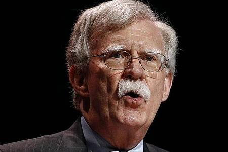 «Ich denke, er sollte nicht Präsident sein», macht John Bolton deutlich. Foto: Patrick Semansky/AP/dpa
